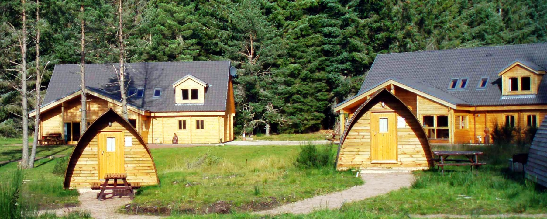 Aviemore chalets and lodge accommodation for Luxury winter cabins