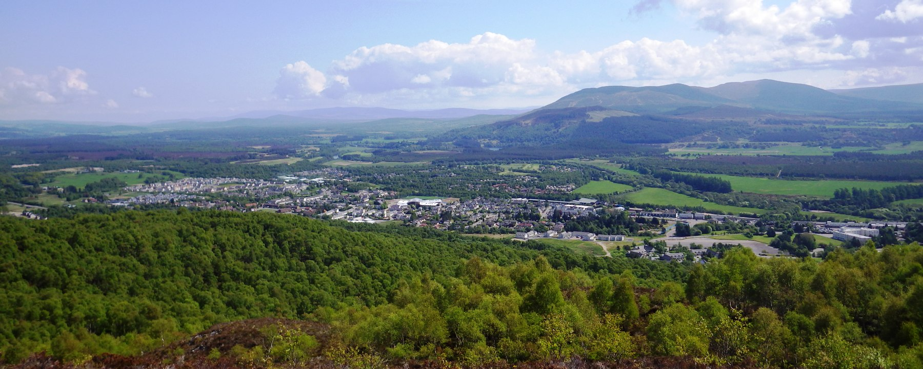 Maps Of Aviemore Within The Cairngorms National Park